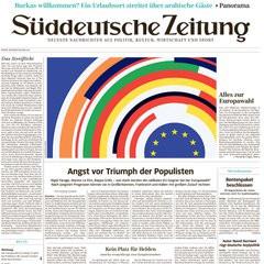 Süddeutsche Zeitung Titelbild