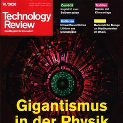 Technology Review Titelbild