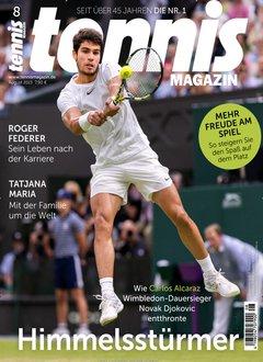 Tennismagazin Abo Titelbild