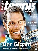 Tennismagazin Abo mit Prämie
