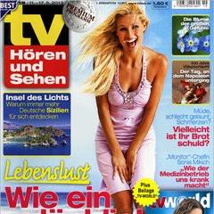 TV Hören & Sehen + tv world Titelbild