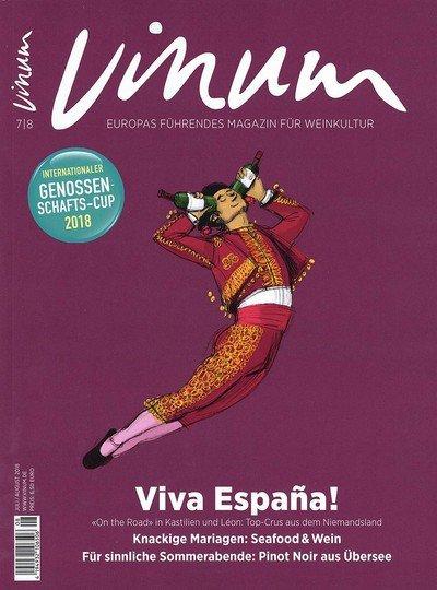 VINUM - Europas Weinmagazin Abo mit Prämie