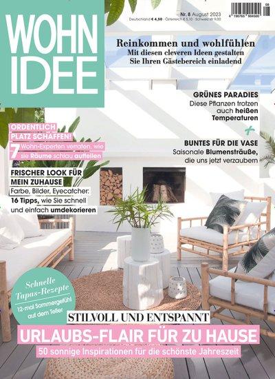 wohnidee cover wohnidee titelbild der ausgabe vom zeitschriften. Black Bedroom Furniture Sets. Home Design Ideas